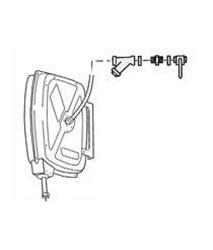 Рулетка со шлангом, соединительный набор с фильтром на входе